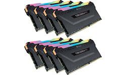 Corsair Vengeance RGB Pro Black 64GB DDR4-3000 CL15 octo kit