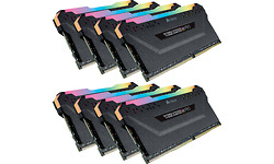 Corsair Vengeance RGB Pro Black 64GB DDR4-3200 CL16 octo kit