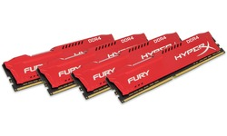 Kingston HyperX Fury Red 64GB DDR4-2933 CL17 quad kit