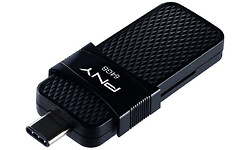 PNY Duo Link USB-C 64GB Black