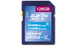 Integral UltimaPro X2 SDXC UHS-II U3 V60 128GB