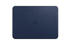 Apple Leather Sleeve for 13 Midnight Blue