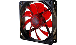 Nox Coolfan LED 120mm Black/Red
