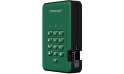 iStorage diskAshur 2 3TB Green