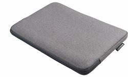 "Gecko Covers Universal Zipper Sleeve 15"" Grey"