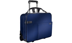 "Leitz Carry-On Trolley Smart Traveller 15.6"" Titan Blue"