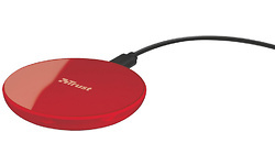 Trust Primo10 Fast Wireless Charger Red
