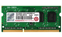 Transcend 4GB DDR3L-1866 CL13 Sodimm