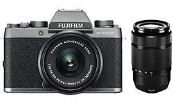 Fujifilm X-T100 15-45 + 50-230 kit Silver