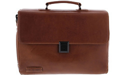 "Bosch Plevier Full Grain Leather 15.6"" Dark Brown"