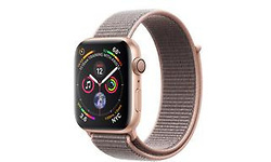 Apple Watch Series 4 44mm Gold Sport Loop Pink Sand