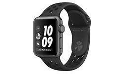 Apple Watch Nike+ 38mm Space Grey Sport Band Black