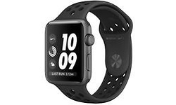 Apple Watch Nike+ 42mm Space Grey Sport Band Black