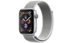 Apple Watch Series 4 44mm Silver Sport Band White/Silver