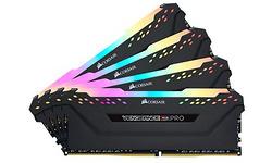 Corsair Vengeance RGB Pro Black 64GB DDR4-3000 CL15 quad kit