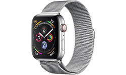 Apple Watch Series 4 4G 40mm Silver Sport Loop Silver