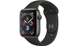 Apple Watch Series 4 40mm 4G Space Grey Sport Band Black