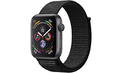 Apple Watch Series 4 44mm 4G Space Grey Sport Loop Black
