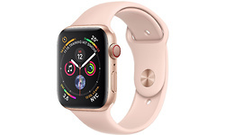 Apple Watch Series 4 4G 44mm Gold Sport Band Pink Sand