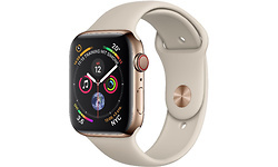 Apple Watch Series 4 4G 40mm Gold Sport Band Stone