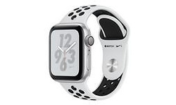 Apple Watch Nike+ Series 4 40mm Silver Sport Band Black/Silver