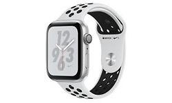 Apple Watch Nike+ Series 4 44mm Silver Sport Band Black/Silver