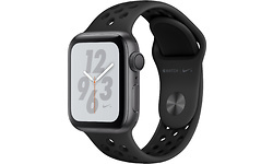 Apple Watch Nike+ Series 4 40mm Space Grey Sport Band Black
