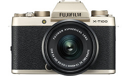 Fujifilm X-T100 15-45mm kit Gold