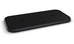 Zens Dual Aluminium Wireless 10W Black