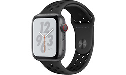 Apple Watch Nike+ Series 4 4G 44mm Space Grey Sport Band Black