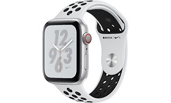 Apple Watch Nike+ Series 4 4G 40mm Silver Sport Band Black/White