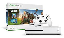 Microsoft Xbox One S 1TB White + Fortnite
