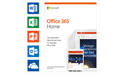 Microsoft Office 365 Home 5-devices 1-year