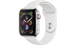 Apple Watch Series 4 4G 40mm Silver Sport Band Stainless Steel