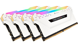 Corsair Vengeance RGB Pro White 64GB DDR4-2666 CL16 quad kit