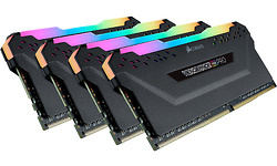 Corsair Vengeance RGB Pro Black 64GB DDR4-3600 CL18 quad kit