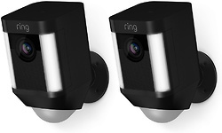 Ring Spotlight Cam Battery Black Duopack