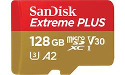 Sandisk Extreme Plus MicroSDXC UHS-I U3 128GB