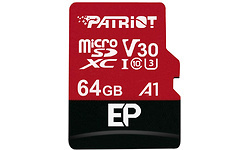 Patriot EP Series MicroSDXC UHS-I U3 64GB + Adapter