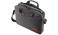 """Fujitsu Casual Entry Case 15.6"""" Briefcase Black/Red"""
