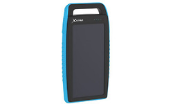 XLayer Powerbank Plus Solar 15000 Black/Blue