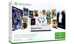 Microsoft Xbox One S 1TB White Starter Bundle