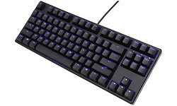Ducky One DKON1687S Blue LED PBT MX-Red Black (US)