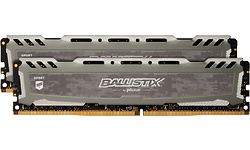 Crucial Ballistix Sport LT Grey 16GB DDR4-3000 CL kit