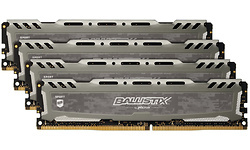 Crucial Ballistix Sport LT Grey 32GB DDR4-2666 CL16 quad kit