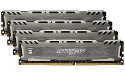 Crucial Ballistix Sport LT Grey 32GB DDR4-3000 CL16 quad kit (BLS4K8G4D30BESBK)
