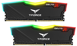 Team T-Force Delta RGB Black 16GB DDR4-3000 CL16 kit