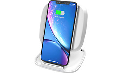 Zens ZESC06WFast Wireless Charger Stand/Base 10W White