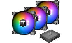 Thermaltake Pure Plus 14 LED RGB TT Premium Edition Black 3-pack