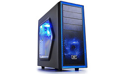 DeepCool Tesseract Blue LED Window Black